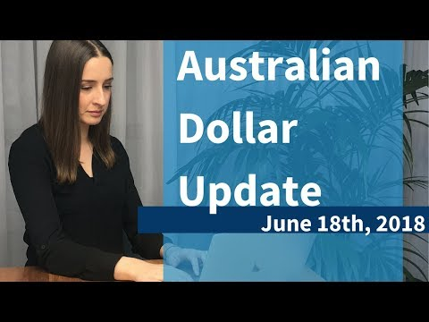 AUSTRALIAN DOLLAR FALLS: Market Update June 18th