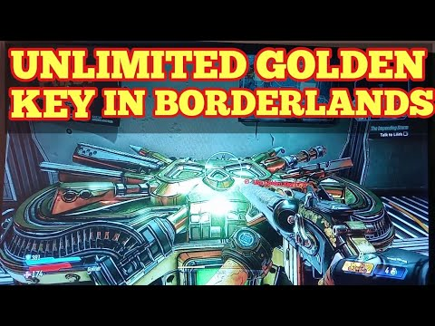 How To Get Golden Key To Open LEGENDARY LOOT BOXES In Borderlands 3 -Free Shift Code,Use Golden Key