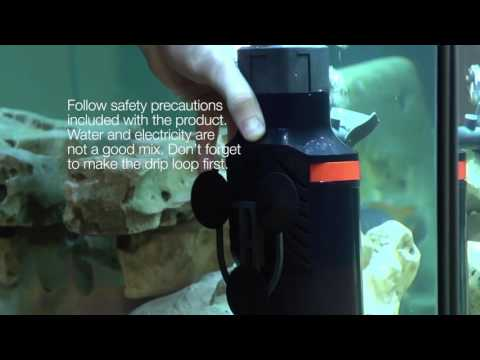 How To Set Up Your Marineland® Magnum® Aquarium Filter For Water Polishing