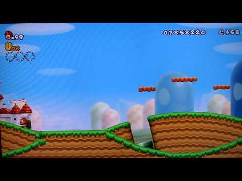New super mario bros. Wii offers a combination of cooperation and competition. Players can pick each other up to save them from danger or toss them into it. Mario, luigi and two toads are all playable characters, while many others from the mushroom kingdom make appearances throughout the game. Players can even.