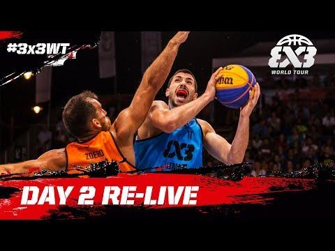🔴 LIVE - FIBA 3x3 World Tour Debrecen Masters 2017 - Day 2 - Debrecen, Hungary