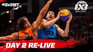 Re-live - FIBA 3x3 World Tour Debrecen Masters 2017 - Day 2 - Debrecen, Hungary