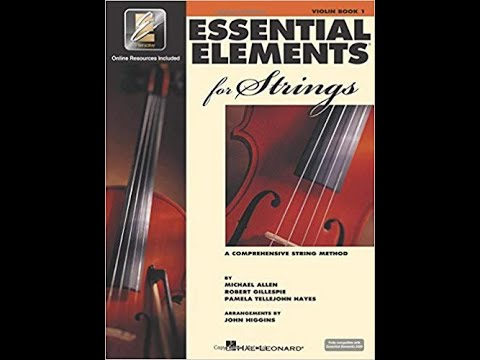 Simple Gifts - 192  A - Essential Elements, Violin, vol. 1