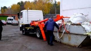 видео Вывоз мусора в ЦАО Москвы