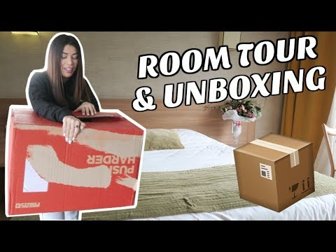 Room tour & Unboxing