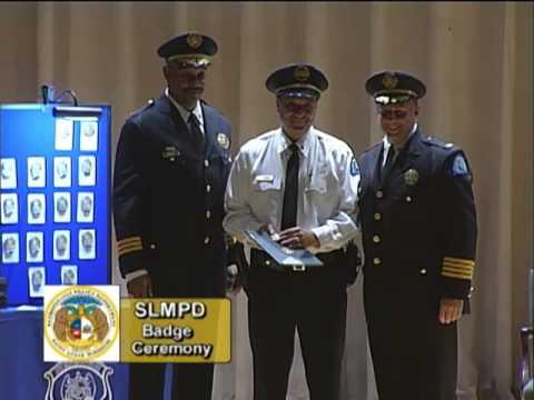July 9 2013 SLMPD Badge Ceremony