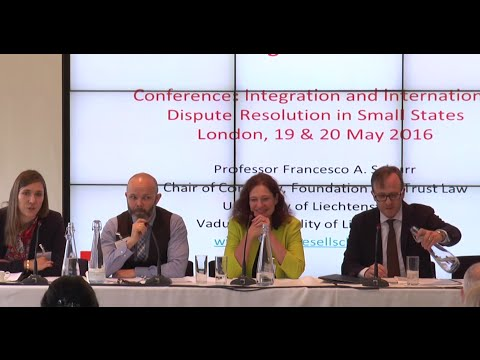 Day 1, Keynote Panel: Small States as Financial Centres: Part 3: Q&A Session