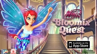 Winx Club - Bloomix Quest: Blooms Abenteuer Gameplay Part 4: Alfea Level 4
