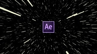 Easy Hyperdrive Space Jump Effect Tutorial | After Effects