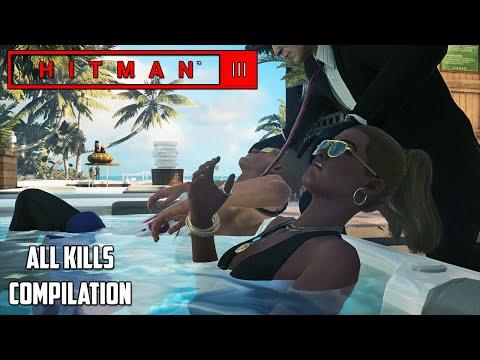HITMAN 2 - HAVEN Island, Last Resort ALL KILLS Compilation