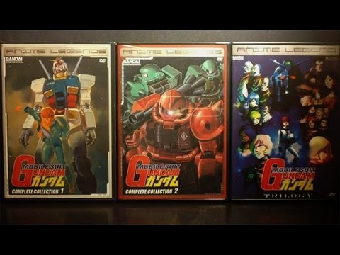 Gundam DVD & Blu-ray Collection [Anime Package Review]