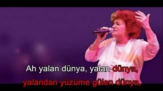 Ah yalan dünya - S. Bağcan / Karaoke
