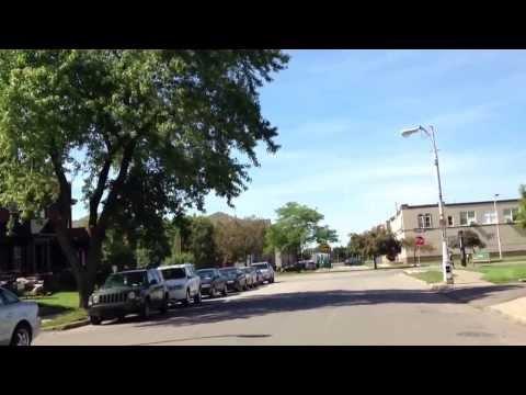Detroit around Wayne State University