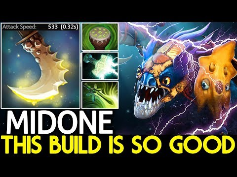 Midone [Slark] This Build is So Good Max Attack Speed 7.21 Dota 2 thumbnail