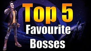 Borderlands The Pre Sequel | Top 5 | Favourite Bosses