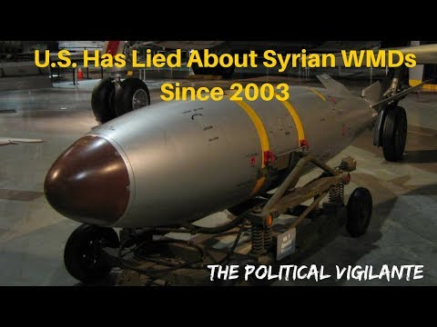 Syria Proposes Mideast Free Of WMD In 2003 - The Political Vigilante