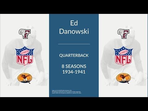 Ed Danowski: Football Quarterback