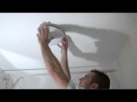 Bathroom Ceiling Light Removal replacing a 2d bathroom light bulb - youtube