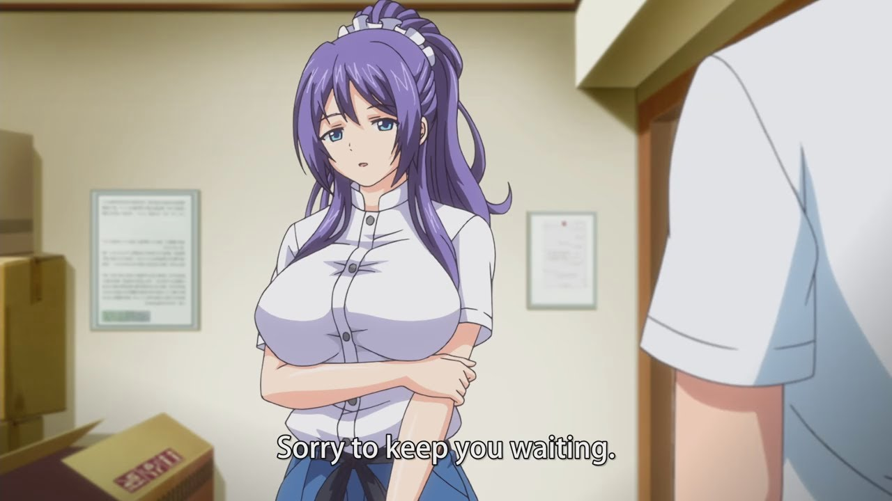 When you meet Your senpai for the first time and she is
