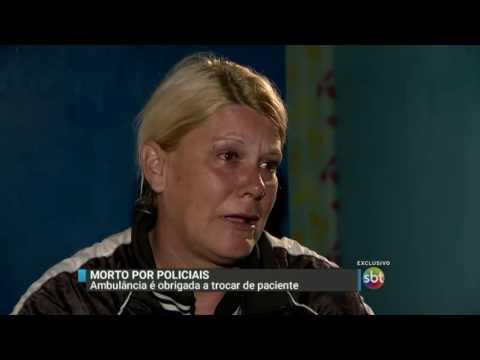 SBT Brasil (22/06/16) Vídeo mostra momento em que jovem inocente é morto pela polícia