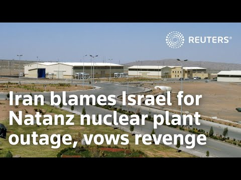 Iran blames Israel for Natanz nuclear plant outage, vows revenge Iran on Monday accused Israel of sabotaging its key Natanz nuclear site and vowed revenge for an attack that appeared to be latest episode in a long-running ..., From YouTubeVideos