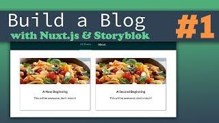 The Frontend | Nuxt.js & Storyblok - Building a Complete Blog