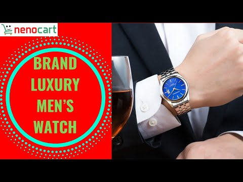 Best Top Brand Luxury Men's Watch 30m Waterproof Date Clock