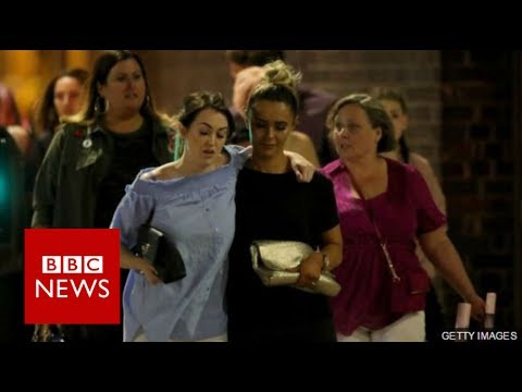 "Manchester Explosion: ""Kids and teenagers just laying there screaming"" - BBC News"