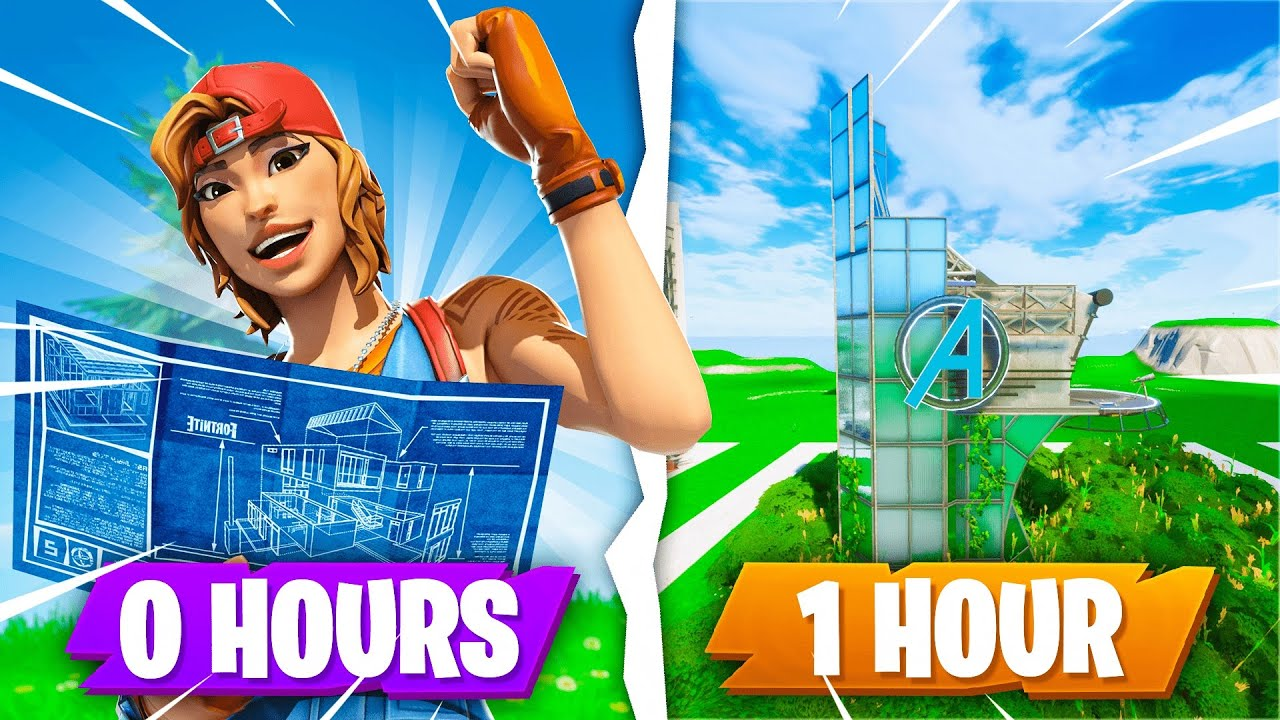I gave 5 Fortnite players ONE HOUR to build me anything...