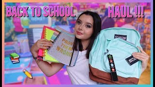 BACK TO SCHOOL HAUL ! 2019 2020
