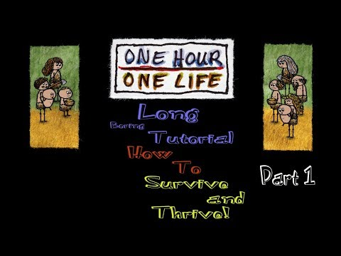 One Man Everything from Scratch Survival - One Hour One Life