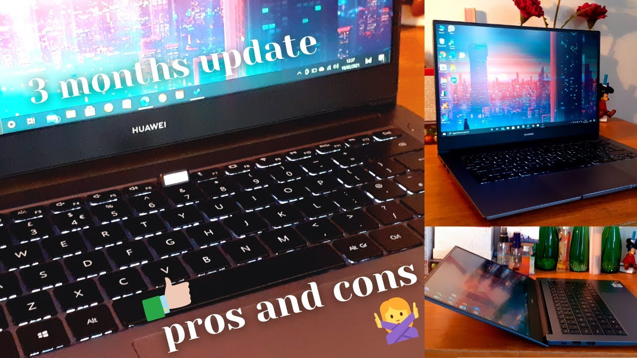 Download PROS AND CONS of Huawei Matebook D14 💻? 3 Month Laptop Update