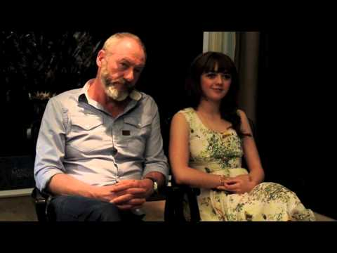 Game of Thrones interview part I: Liam Cunningham & Maisie Williams