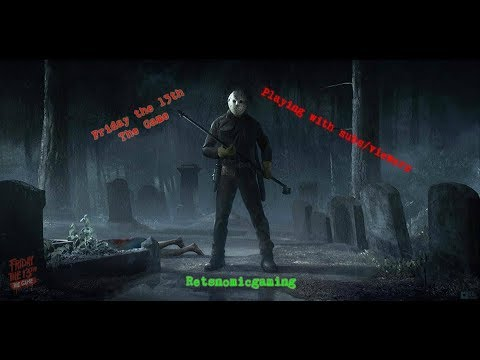 Friday The 13th - playing with subs/viewers!! Comment to join in on ps4