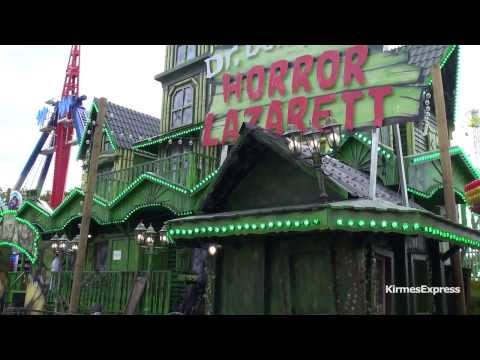 Horror Lazarett (Lehmann) - Kirmes Aachen Sommerbend 2013 (Walkthrough)