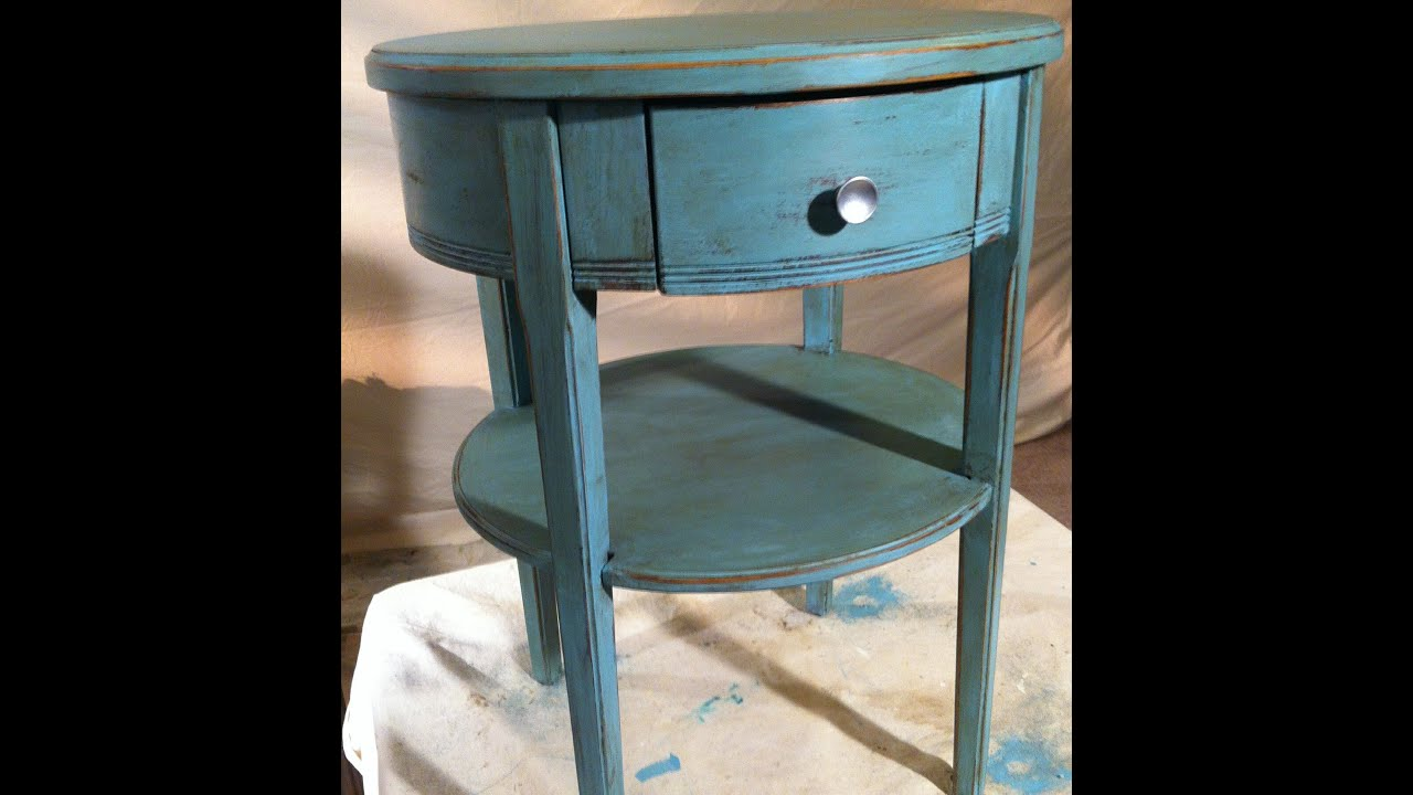 Furniture Painted with Chalk Paint