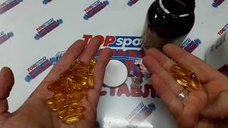 омега 3 Рыбий жир в бодибилдинге САМАЯ БОЛЬШАЯ БАНКА Walgreens omega 3 Fish Oil 1000mg Softgels