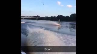 Wake board session - Jeff Barton / Eric Scott