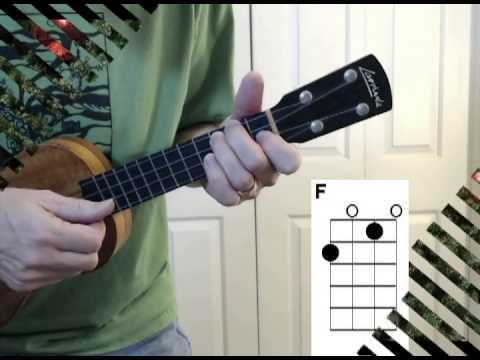 The Chipmunk Song - EZ Ukulele Strum-along with Chords