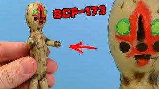 ЖИВАЯ СКУЛЬПТУРА SCP-173 из пластилина | Видео Лепка