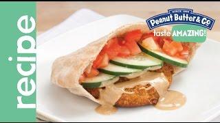 Vegan Peanut Butter Chickpea Burger Recipe