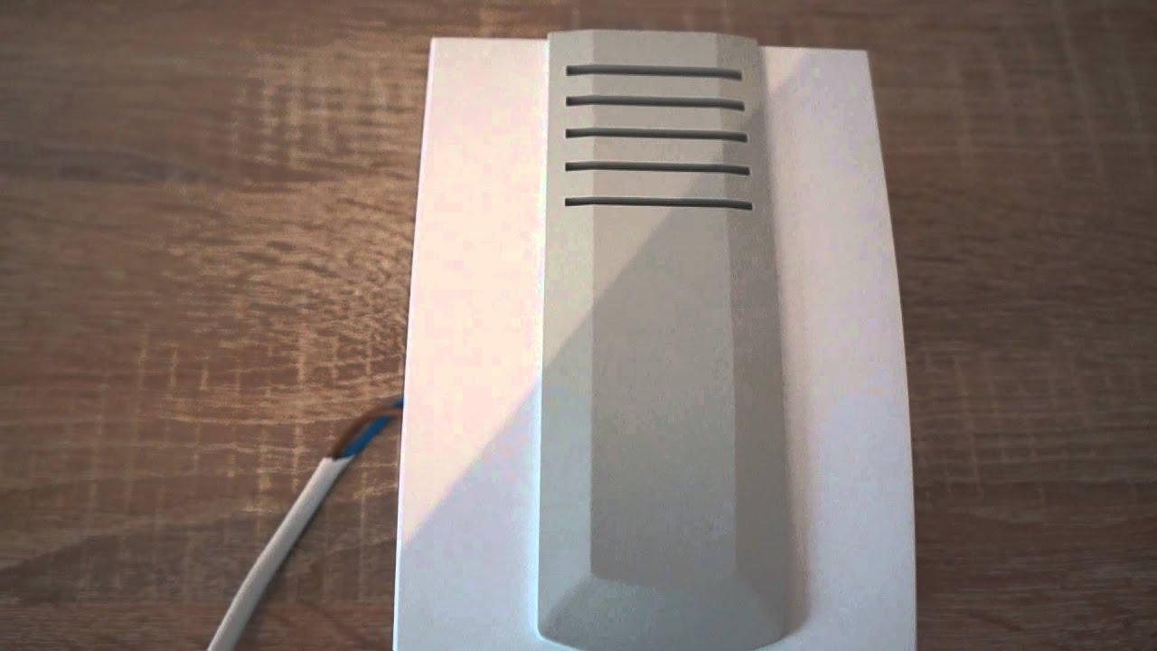 схема подключения дверного звонка zamel dns 911/n