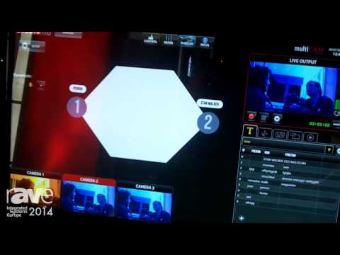 ISE 2014: MultiCam Systems Shows Its MultiCam Studio Broadcast Video Switcher