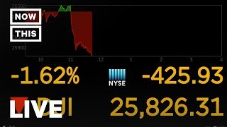 Stocks Plunge In Response to Trump-China Tariff War | NowThis