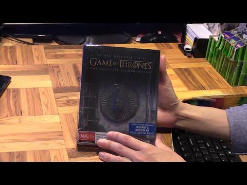 Game Of Thrones Season 8 Blu Ray Steelbook
