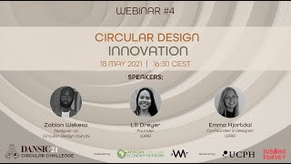 DANSIC21 Webinar #4: Circular Design Innovation