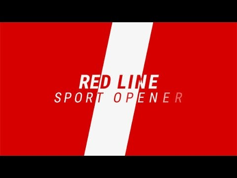 Red Line / Sport Promo After Effects template - YouTube