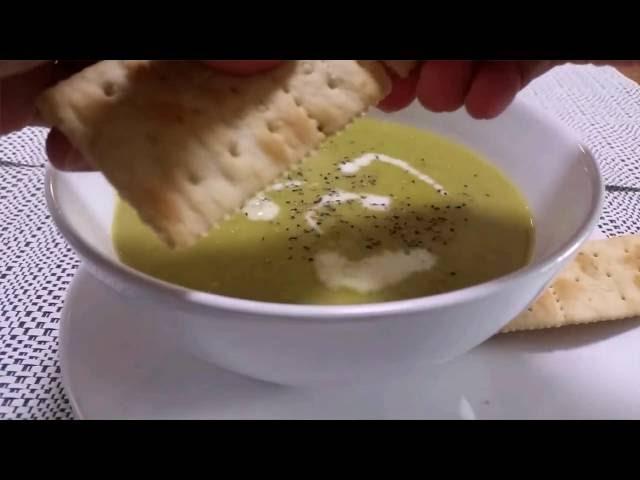 Resep Cream Peas Soup