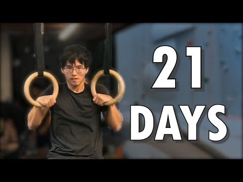 This Average Guy Learns The Ring Muscle-Up In 21 Days