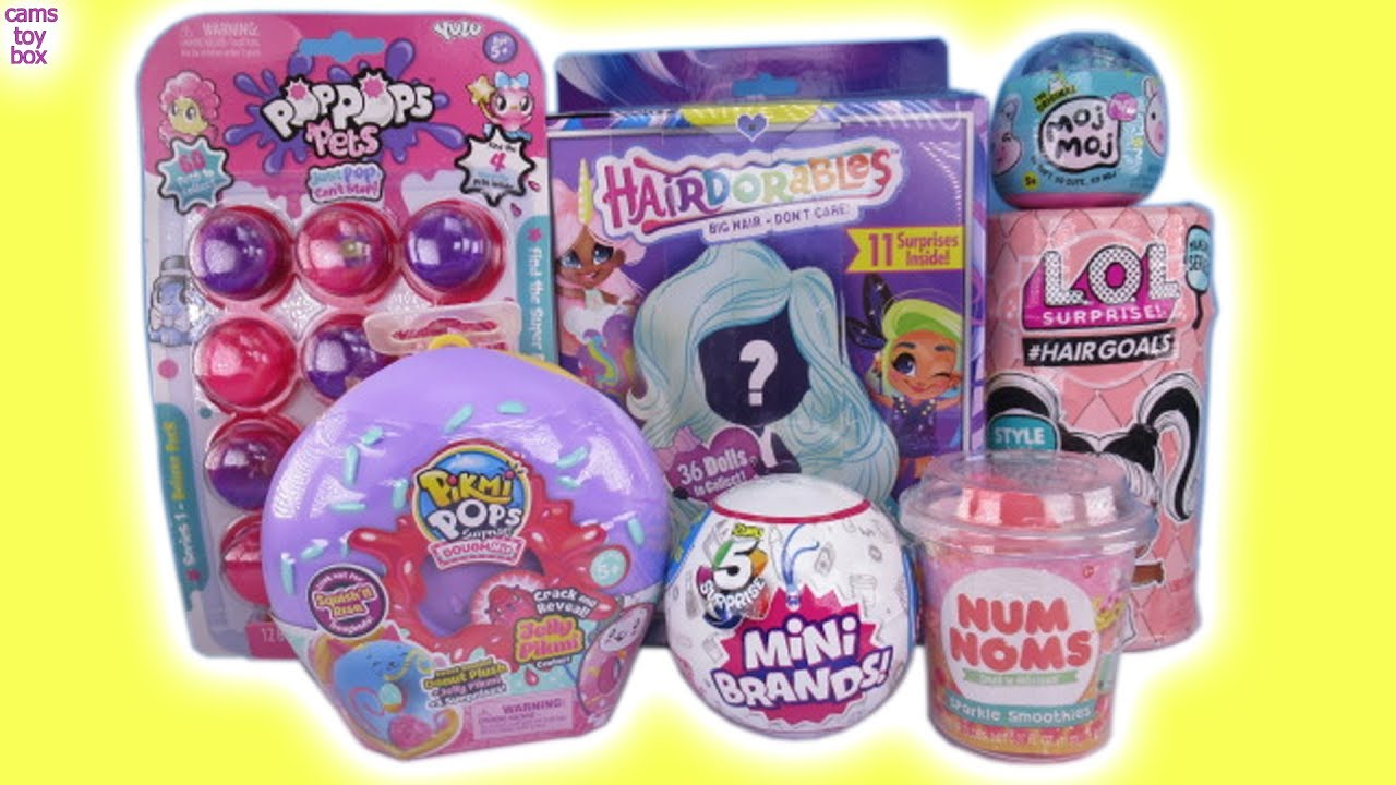 Dolls Hairdorables Pikmi Pops 5 Suprise Mini Brands Lol Dolls
